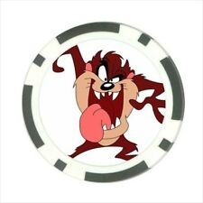 Tasmanian Devil Toon Pokerchip Guard