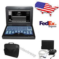USA 10.1 Inch TFT Digital Notebook PC Ultrasound Scanner 3.5MHZ Convex Probe,FDA