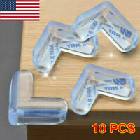 10x Soft Clear Table Desk Edge Corner Baby Safety Cushion Protector Guard Cover