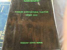 Ursus 3512 Workshop Service Manual