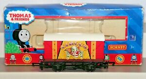 Rare Hornby Thomas 00 Gauge R9207 Circus Van SWB Closed Wagon Used Boxed