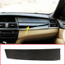Real Carbon Fiber For BMW X5 E70 X6 E71 2008-2013 Dashboard Panel Cover Sticker