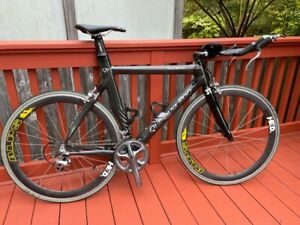 Quintana Roo Carbon Fiber Triathlon Bike (L)