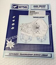 E4OD E40D Transmission ATSG Technical Service and Repair Manual for Ford