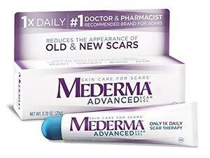 Mederma Advanced Scar Gel Cream Treatment 20g Skin Care Old & New Scars 01/2023