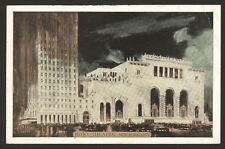 USA. New York City. Roxy Theatre - 1937 Vintage Printed Postcard