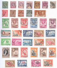 GOLD COAST  Album page of Used Stamps (M277)