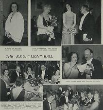 British Empire Union Ball May Fair Hotel London 1931 Photo Article 7853
