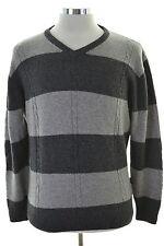Daniel Hechter Mens Jumper Sweater Medium Grey Wool