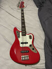 Fender Jaguar Bass Japanese Model 2008 Red With Red Headstock JAB J-Craft for sale