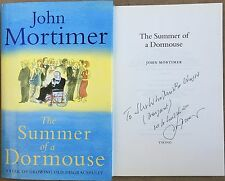 The Summer Of A Dormouse By John Mortimer Signed Humorous Inscription