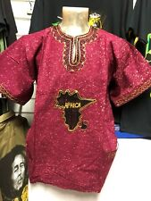 Handmade Traditional ce Dashiki d'Afrique Shirt Ltd Edition One Off racines culture 14