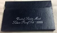 1995 US MINT SILVER PROOF SET - Complete w/ Original Box and COA