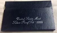 1995 US MINT SILVER PROOF SET - Complete w/ Original Box and COA