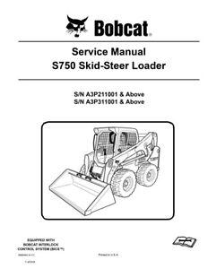 New Bobcat S750 Skid Steer Loader 2011 Edition Service Repair Manual 6989464