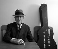Leonard Cohen Singer Songwriter Poet Famous Poster Print
