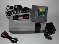 Nintendo NES System Console with Guarantee New 72 Pin Connector & GALAGA