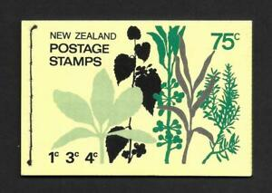 NEW ZEALAND, 1971  75c, BOOKLET SB 28a, MNH, COMPLETE, CAT £8