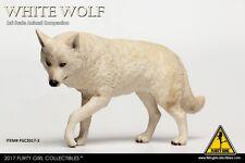 "CRIMSON Heroes Animal 1:6 Model FLIRTY GIRL White Wolf Companion F 12"" Figure"