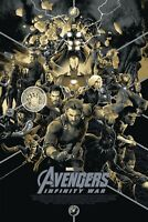SDCC 2018 Exclusive Mondo Marvel: Infinity War variant by Matt Taylor *NUMBERED*