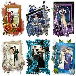 YESTERYEARS  ART DECO  Card Making Toppers, Card Toppers (12)