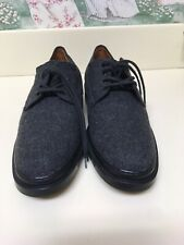 Tods Mens Winter Shoes Size 40 Grey Wool NEW