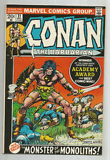 Conan the Barbarian #21: Bronze Age Grade 9.0  Find With Barry W. Smith Cover!!