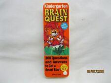 Brain Quest Kindergarten Ages 5 - 6 Flash Card Game Workman Publishing Deck 2