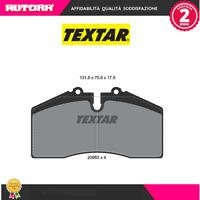 2095302 Kit pastiglie freno a disco Porsche (MARCA TEXTAR)
