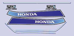 Honda  CB250N Superdream Sticker Kit (Blue)