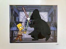The Simpsons - Bart Wars - Hand Drawn & Hand Painted Cel
