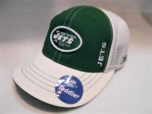 New Licensed NFL New York Jets TODDLER 2T - 4T Size Flexfit Hat ___B135
