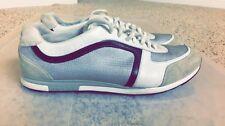 Men's Prada Sneakers Great Condition Size 9 (White/Silver/Black/Suade)