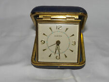 ALTER EUROPA 2 JEWELS REISEWECKER WECKER ALARM CLOCK                   #19