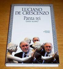PANTA REI FIlosofia Storia Politica De Crescenzo 1°ediz. MONDADORI 1994