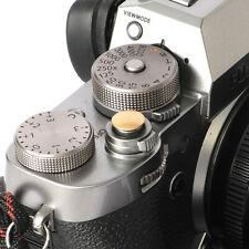 Selens Shutter Button Soft Release Metal Convex Gold Fuji XT3 XE3 X-Pro1 X-Pro3