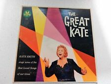 KATE SMITH -THE GREAT KATE TOPS REC. L-1672 ORCHESTRA BY ALEX DEANE  VINYL LP