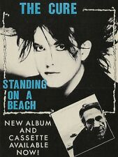 """The Cure Standing on a Beach 16"""" x 12"""" Reproduction Promo Poster Photo"""