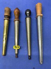 4 triboulets d'horloger (un porte le nom de son inventeur)- lot 904jaune