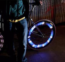 MonkeyLectric M210R LED Wheel Bike Light - NEW - rrp £44.99