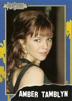 "Amber Tamblyn.  POPCARDZ #20 Trading Card. ""Joan of Arcadia"""