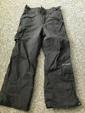 COLUMBIA black ski trousers Age 14 - 16 youth
