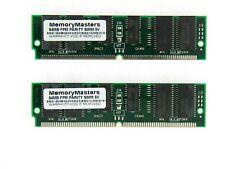 128MB (2X64MB) FPM PARITY 60NS SIMM 72-PIN 5V 16X36