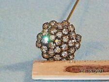 Antique Rhinestone Hat Pin Stick Pin