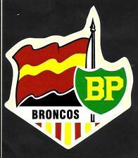 'THE BRONCOS'' Vinyl Decal Sticker BRISBANE BP Rugby League nrl