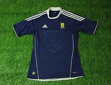SCOTLAND NATIONAL TEAM 2010/2011 FOOTBALL SHIRT JERSEY HOME ADIDAS ORIGINAL