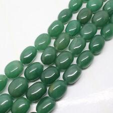 "13-16mm Green Aventurine Freedom stone DIY Loose Beads 15"""