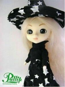 Pullip 2007 Mini Pullip doll Jun Planning Groove Witch halloween outfit + stand