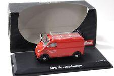 1:43 Schuco DKW fuoco Löschwagen RED NEW in Premium-MODELCARS