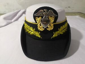 US navy ladies hat available in both ranks captain and admiral...